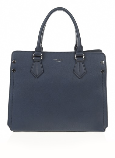 David Jones Clutch / El Çantası Lacivert